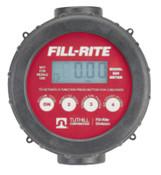 Fill-Rite Digital Flow Meters, 1 in Inlet, 2 gal/min - 20 gal/min, 1 EA, #810P