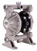 Ingersoll Rand Diaphragm Pumps, 3/8 in (NPTF) Outlet, Polypropylene - PTFE, 1 EA