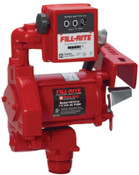 Fill-Rite Rotary Vane Pumps with Manual Nozzle, 20 gpm, Rotary Vane Pump, 1 EA, #FR701V