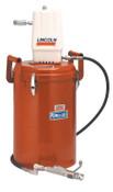 Lincoln Industrial Series 20 High Pressure Portable Grease Pumps, 25-30 lb.; 60 lb Bulk, 1 EA, #987