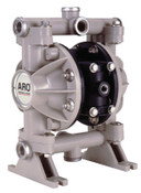 Ingersoll Rand Diaphragm Pumps, 3/8 in (NPTF) Outlet, Polypropylene - Santoprene, 1 EA