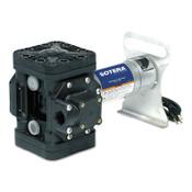 Fill-Rite Diaphragm Transfer Pumps, 115 VAC, 1 in (FNPT), 12 ft Hose, 1 EA