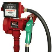Fill-Rite Fill-Rite AC Transfer Pump, 115 VAC, 1 in (NPT), 18 ft Hose, 1 EA, #FR711VA