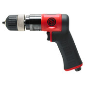 CHICAGO PNEUMATIC CP9287C Pistol Drill, 3/8 in Chuck, 3,000 rpm, Keyless, 1 EA, #CP9287C