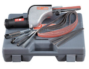 "Dynabrade The Original Dynafile Abrasive Belt Machine Kit, 24"" x 1/8""-1/2"" Belts, 0.5 hp, 1 KIT"