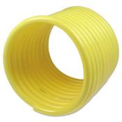 Coilhose Pneumatics Nylon Self-Storing Air Hoses, 1/4 in I.D., 12 ft, Rigid Fitting, 1 EA