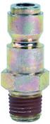 Bostitch Automotive Series Plugs, 1/4 in (NPT) M, 4 CA, #AP14M