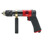 CHICAGO PNEUMATIC CP9791C Pistol Drill, 1/2 in Chuck, 840 rpm, Keyless, 1 EA, #CP9791C