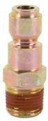 Bostitch Automotive Series Plugs, 3/8 in (NPT) M, 4 CA, #AP38M