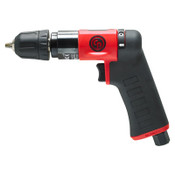 CHICAGO PNEUMATIC CP7300RQCC Pistol Drill, 1/4 in Chuck, 2,800 rpm, Keyless, 1 EA, #CP7300RQCC