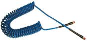 Coilhose Pneumatics Flexcoil Polyurethane Self-Storing Air Hoses, 1.08 lb @ 1 ft, 3/8 in O.D., 1 EA