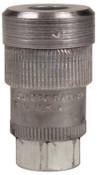 Alemite Quick Detach Air Couplers 1/4 in (NPT) F, 1 EA, #307112