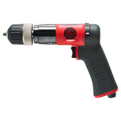 CHICAGO PNEUMATIC CP9792C Pistol Drill, 3/8 in Chuck, 2,100 rpm, Keyless, 1 EA, #CP9792C