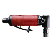 Chicago Pneumatic Angle Die Grinders, 1/4 in, 23,000 rpm, 0.3 hp, 1 EA, #CP9106QB