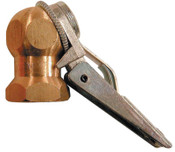 Coilhose Pneumatics Chuck Assemblies, 1/4 in (NPT) F, Brass, 1 EA, #CH09