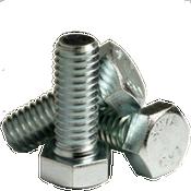 """1""""-8x3-3/4"""" (PT) Hex Bolts A307 Grade A Coarse Zinc Cr+3 (10/Pkg.)"""