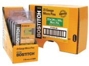 Bostitch 23 GA HEADLESS PIN-3/4IN- 3000/BOX, 60 CA, #PT23193M