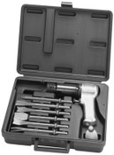 Ingersoll Rand Air Hammer Kit, Super Duty, 3 1/2 in Stroke L, 2,000 blows/min, w/6 Chisels/Case, 1 KT