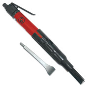 Chicago Pneumatic Needle Scaler/Weld Flux Chippers, 4600 BPM, 1-1/8 in Stroke, 1 EA, #CP7120