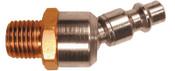 Coilhose Pneumatics Ball Swivel Connectors, 1/4 in (NPT) M, 10 EA, #1504BS
