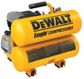 DeWalt 4 H.P. 4 GALLON TWIN STACK AIR COMP. ELECTRIC, 1 EA