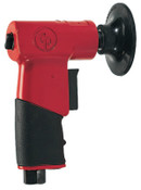 Chicago Pneumatic Smart Rotary Sanders, 3 in; 75 mm Pad, 15,000 rpm, 1 EA, #CP7202
