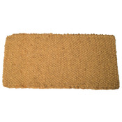 Anchor Products Coco Mats, 18 in Long, 30 in Wide, Natural Tan, 1 EA, #ABGDN3