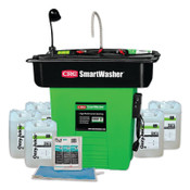 CRC SmartWasher Bioremediating Mobile Parts Washer Kit, SW-823XE SuperSink, 1 EA, #14766