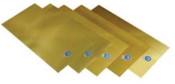 "Precision Brand Brass Shim Flat Sheets, 0.002"", Brass, 0.031"" x 25"" x 6"", 2 PKG, #17530"