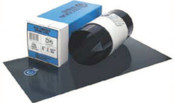 "Precision Brand Blue Tempered Shim Stock Rolls, 0.0005"", Steel 1095, 0.004"" x 50"" x 5"", 1 ROL, #23130"