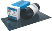 "Precision Brand Blue Tempered Shim Stock Rolls, 0.00075"", Steel 1095, 0.005"" x 50"" x 6"", 1 ROL, #23145"
