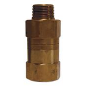 Dixon Valve Safety Shut-Off Valves, 1 in (NPT) Inlet, Male, Brass, 1 EA