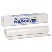 Warp Brothers Poly-Cover Plastic Sheets, 6 Mil, 20 x 100, Clear, 1 RL, #6X20C