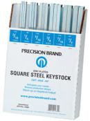 Precision Brand ASSORTMENT OF ALL SQUARE KEYSTK ZINC, 1 AST, #14680
