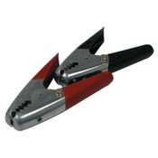 Anchor Products Battery Clamps, Vinyl-Insulated, 1-3/0 AWG, 600 A, 1-1/2 in Jaw, Black/Red, 1 ST, #BC600