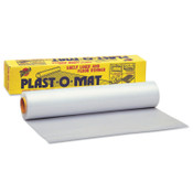 Warp Brothers Plast-O-Mat Heavy Duty Ribbed Floor Runner 50', 1 RL, #PM50
