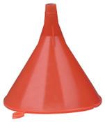Plews Plastic Funnel, 8 oz Capacity, 4-1/2 in dia, 1/2 in OD Tip, 1 EA, #75060