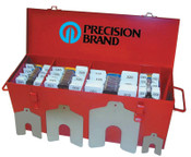 """Precision Brand Slotted Shim Assortment Kits, .0010-1/8"""" Thick, Master Asst, 1 EA"""