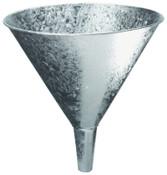 Plews Funnels, 7 pt, Galvanized Steel, 9 3/4 in dia., 1 EA, #75017