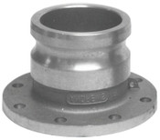 Dixon Valve Andrews Adapter x Round Tank Truck Flanges, 4 in, 1 EA