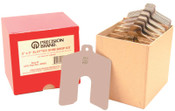 """Precision Brand Slotted Shim Assortment Kits, 3 X 3 in, .001-.075"""" Thick, Shop Asst, 1 KIT"""