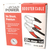 CCI Booster Cables, 4/1 AWG, 20 ft, Black, 1 EA, #87600108