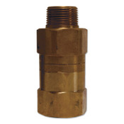 Dixon Valve Safety Shut-Off Valves, 3/4 in (NPT) Inlet, Male, Brass, 1 EA