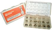 Precision Brand Lengthening Shim Assortments, 4.95 ID, 5.96 OD - 15.50 ID, 19.93mm OD, 330/Set, 1 EA