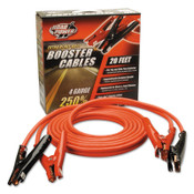 CCI Automotive Booster Cables, 4/1 AWG, 20 ft, Red, 1 EA, #86600104