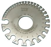Mitutoyo Series 950 Standard Gages, No. 202, #0-#36, Satin Chrome, 1 EA