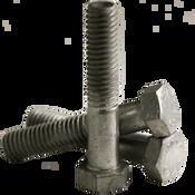 "7/8""-9x7-1/2 Partially Threaded Hex Bolts A307 Grade A Coarse HDG (5/Pkg.)"