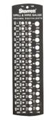 L.S. Starrett 186 DRILL & STEEL WIRE G, 3 EA, #50676