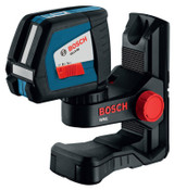 Bosch Tool Corporation Self-Leveling Cross-Line Lasers, 13 1/2 in, 65 ft Range, 1 EA, #GLL250