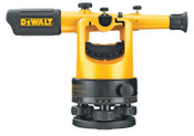 DeWalt Optical Instruments, Transit Level Kit, 200 ft Range, 1 KIT, #DW092PK